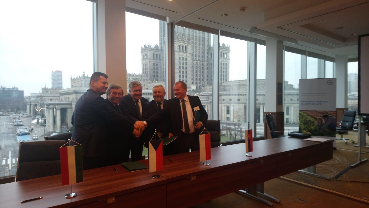 68. posiedzenie izb rolniczych państw Grupy Wyszehradzkiej w Warszawie