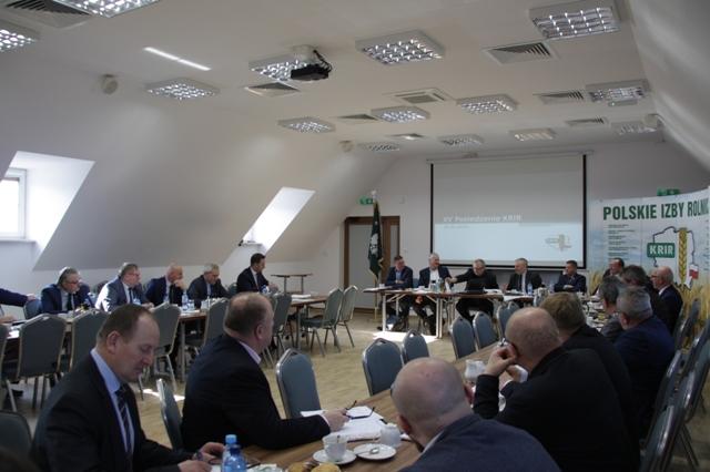 XV Posiedzenie KRIR V kadencji