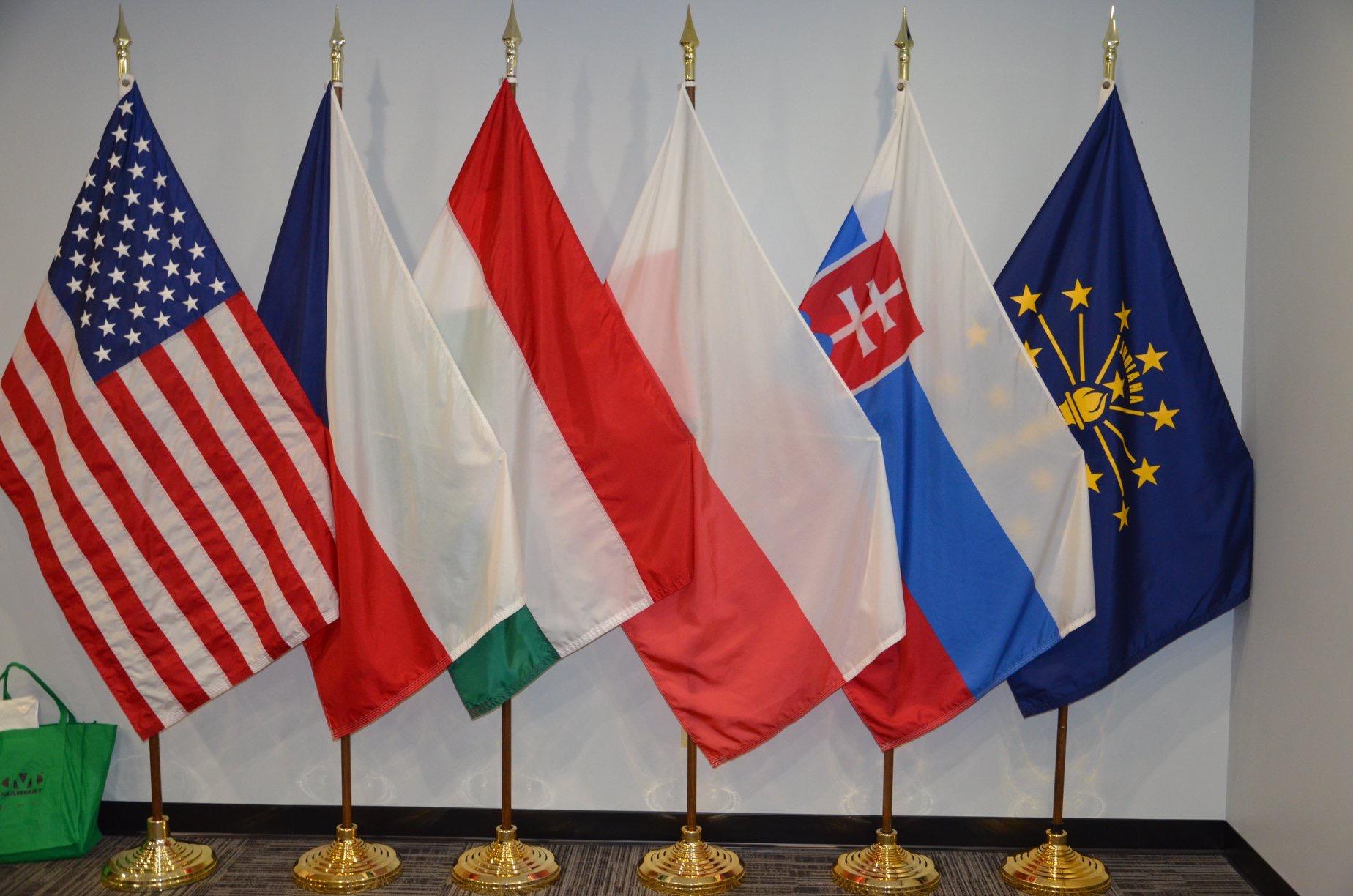 Delegacja izb rolniczych V4 w USA