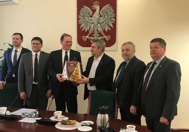 Wizyta Litewskiej Izby Rolniczej