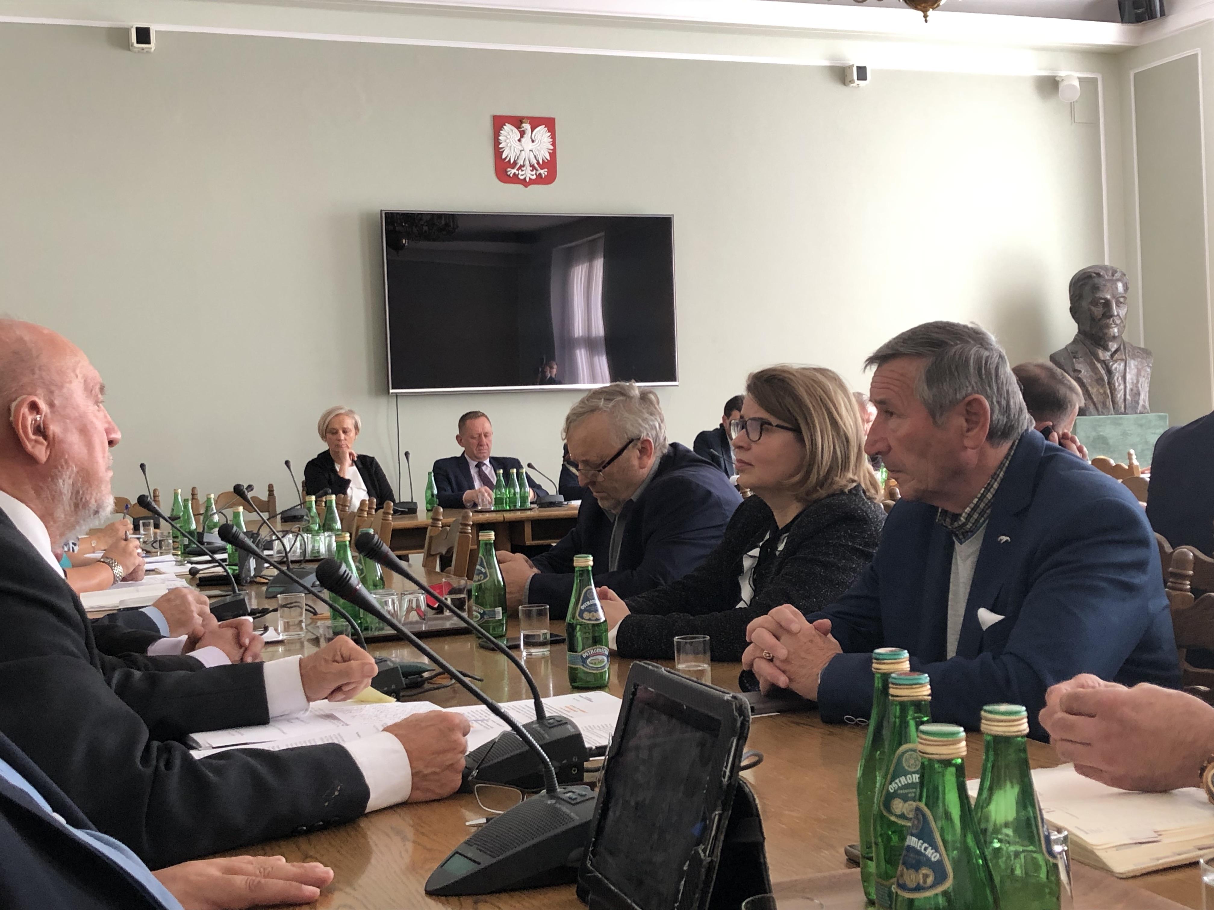 Na Sejmowej Komisji Rolnictwa na temat pomocy suszowej