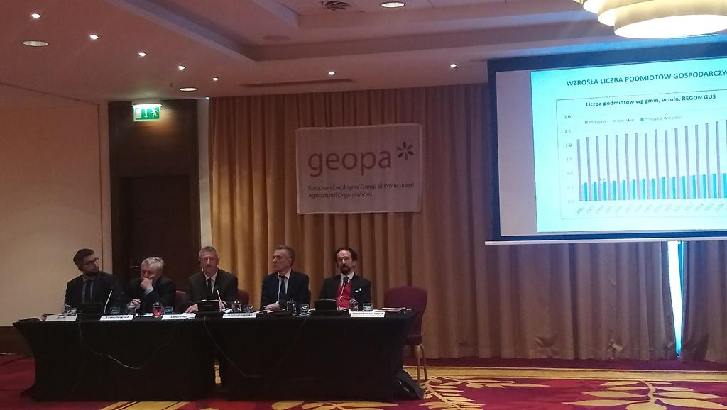 Koszty pracy w rolnictwie – seminarium Geopa-Copa