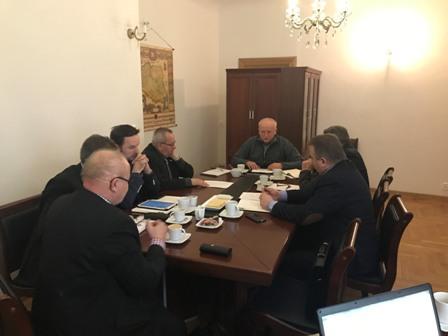 IV Posiedzenie Nadzwyczajnej Komisji Problemowej KRIR do spraw opracowania propozycji rozwiązań dotyczących strat w rolnictwie spowodowanych przez zjawiska atmosferyczne, ubezpieczeń rolnych, szkód łowieckich i ustroju rolnego