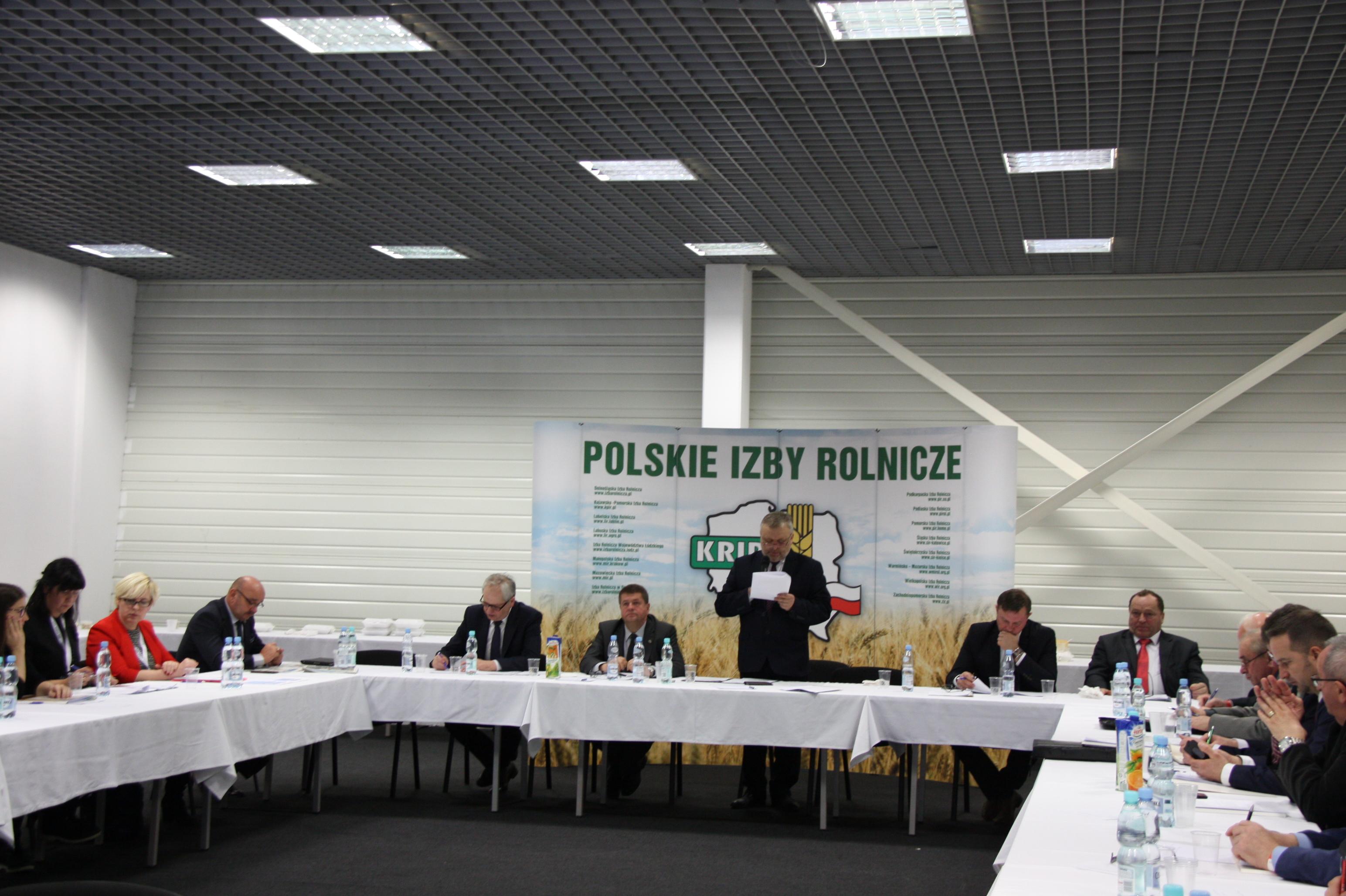 VI Posiedzenie Krajowej Rady Izb Rolniczych