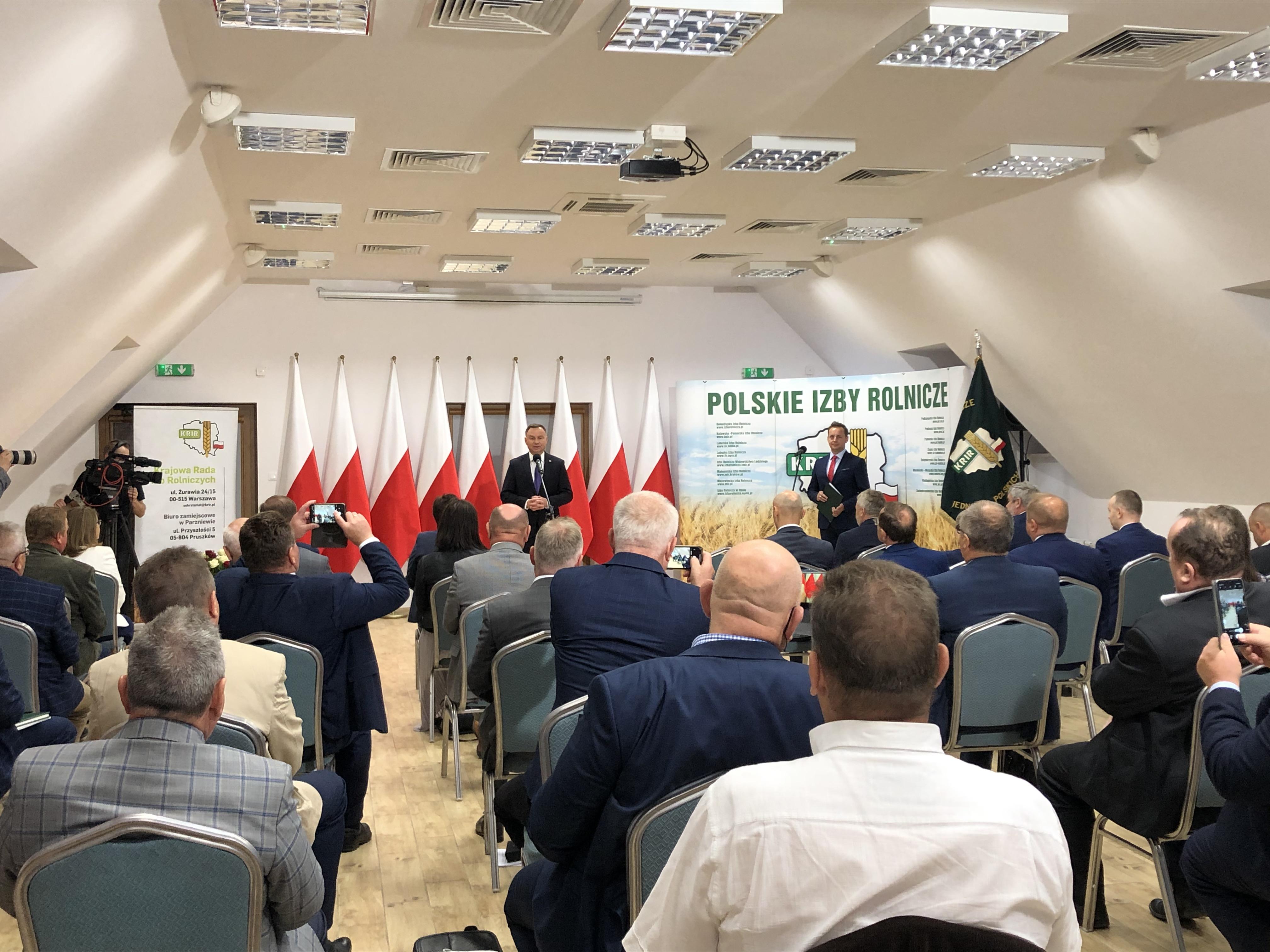 IV Posiedzenie KRIR z udziałem Prezydenta RP