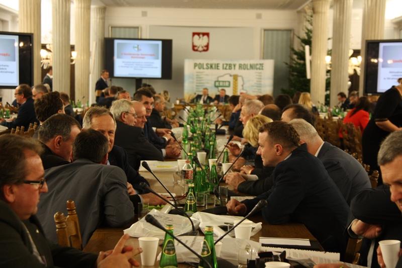 V Konferencja Izb Rolniczych w Sejmie