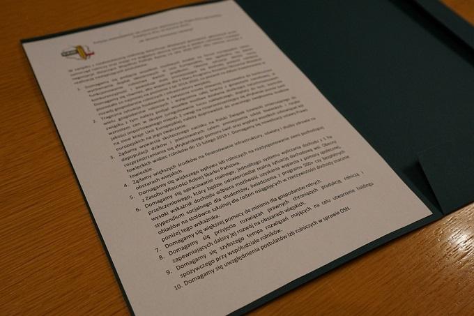 Postulaty Wojewódzkich Izb Rolniczych skierowane do Rządu RP