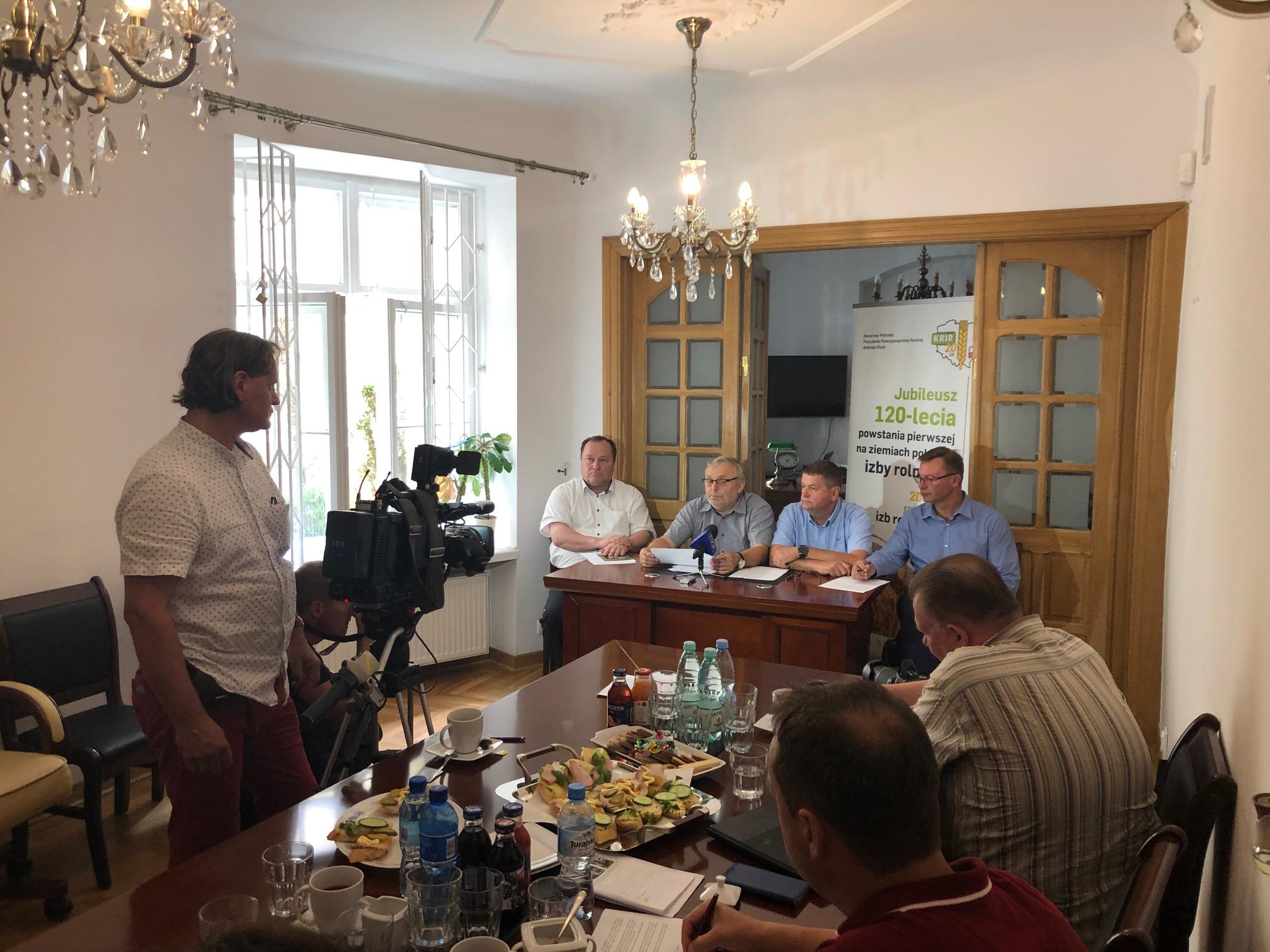 Konferencja prasowa Zarządu KRIR, 20.08.2019