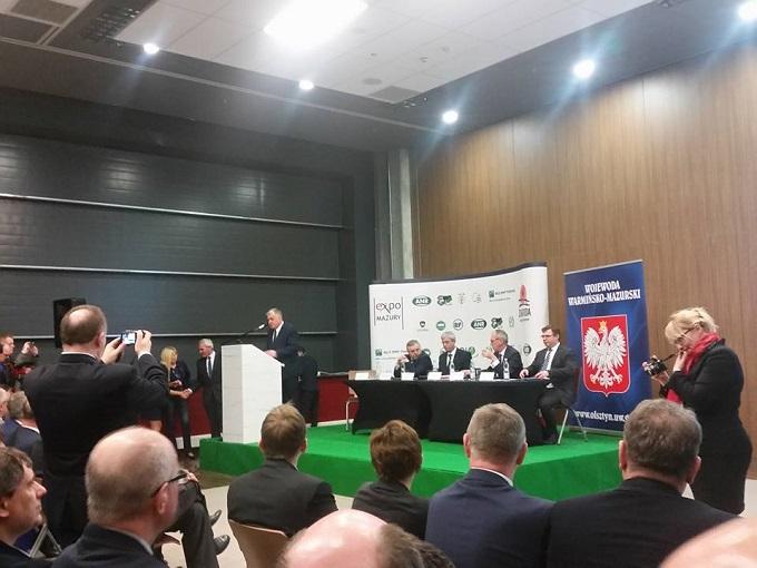 Wystawa Mazurskie AGRO SHOW w Ostródzie