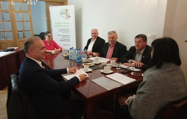 Spotkania samorządu rolniczego z Wiceprezesem Krajowej Rady Komorniczej