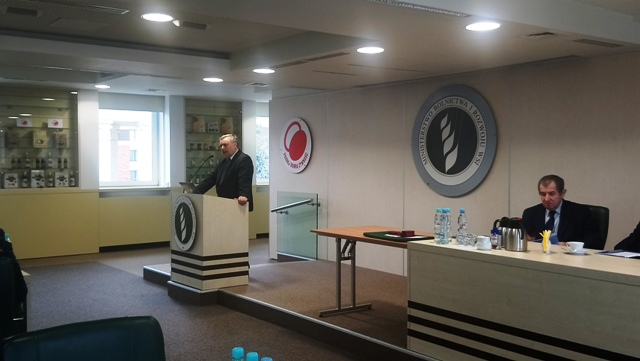 Prezes KRIR podczas VII Kongresu Eksporterów Polskich