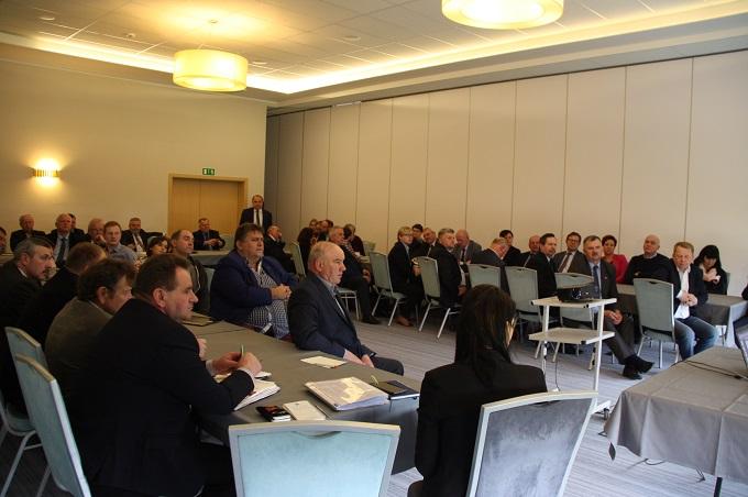 Spotkanie izb rolniczych w Olsztynie