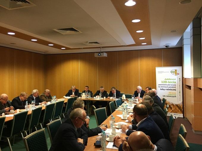 Spotkanie dotyczące funkcjonowania obrotu ziemią i nowelizacji ustawy o izbach rolniczych