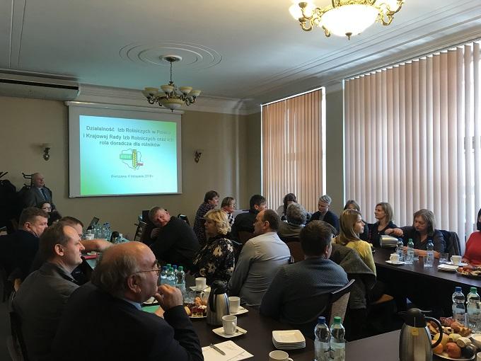 Spotkanie z delegacją łotewskich spółdzielni rolniczych