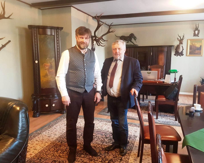Prezes KRIR spotkał się z Łowczym Krajowym