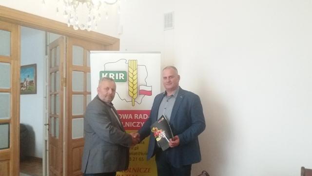 Spotkanie Prezesa KRIR z Kierownikiem Produktu firmy KHNO POLAN Sp. z o.o.